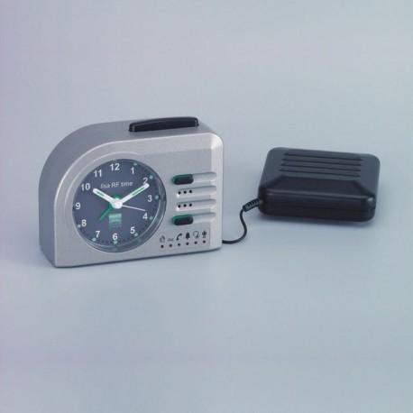 lisa-RF time, silber-metallic (inkl. Vibrationskissen)