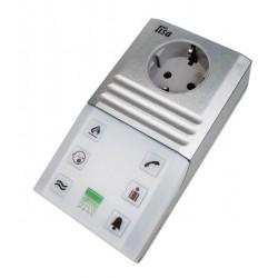 Funk-Blitzlampe mit integrierter Steckdose